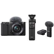 Sony Alpha ZV-E10 + 16-50mm f/3.5-5.6 + Grip GP-VPT2BT + Mikrofón ECM-W2BT