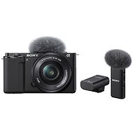 Sony Alpha ZV-E10 + 16-50mm f/3.5-5.6 + Microphone ECM-W2BT - Digital Camera