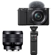 Sony Alpha ZV-E10 + 16-50mm f/3.5-5.6 + 10-18mm f/4.0 + Grip GP-VPT2BT