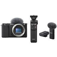 Sony Alpha ZV-E10 telo + Grip GP-VPT2BT + Mikrofón ECM-W2BT - Digitálny fotoaparát