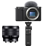 Sony Alpha ZV-E10 telo + 10-18mm f/4.0 + Grip GP-VPT2BT - Digitálny fotoaparát