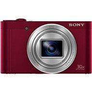 Sony CyberShot DSC-WX500 červený - Digitálny fotoaparát