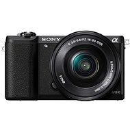 Sony Alpha A5100 čierny + objektív 16–50 mm - Digitálny fotoaparát