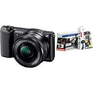 Sony Alpha A5100 čierny + objektív 16–50 mm + Alza Foto Starter Kit - Digitálny fotoaparát