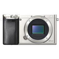 Sony Alpha A6000 strieborný, telo - Digitálny fotoaparát
