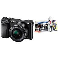 Sony Alpha A6000 čierny + 16–50 mm objektív + Alza Foto Starter Kit - Digitálny fotoaparát