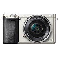 Sony Alpha A6000 strieborný + objektív 16–50 mm - Digitálny fotoaparát