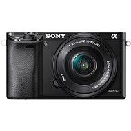 Sony Alpha A6000 čierny + objektívy 16–50 mm + 55–210 mm - Digitálny fotoaparát