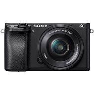 Sony Alpha A6300 + objektív 16-50 mm - Digitálny fotoaparát