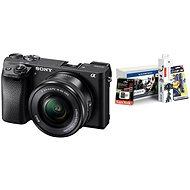 Sony Alpha A6300 + objektív 16-50mm + Alza Foto Starter Kit 32GB