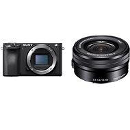 Sony Alpha A6400 + 16–50 mm čierny - Digitálny fotoaparát