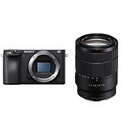 Sony Alpha A6400 + 18–135 mm OSS čierna - Digitálny fotoaparát