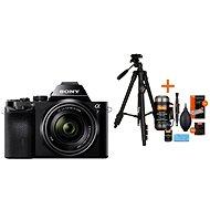 Sony Alpha A7 + objektív 28–70 mm + Rollei Foto Starter Kit 2 - Digitálny fotoaparát