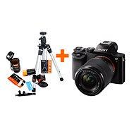 Sony Alpha A7 + objektív 28–70 mm + Rollei Starter Kit - Digitálny fotoaparát