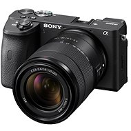 Sony Alpha A6600 čierny + 18–135 mm OSS SEL - Digitálny fotoaparát