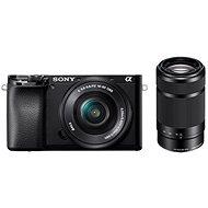 Sony Alpha A6100 černý + 16-50mm f/3.5-5.6 OSS SEL + 55-210mm f/4.5-6.3 SEL - Digitálny fotoaparát
