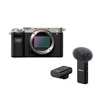 Sony Alpha A7C strieborný + Mikrofón ECM-W2BT