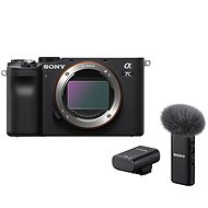 Sony Alpha A7C čierny + Mikrofón ECM-W2BT