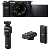 Sony Alpha A7C + FE 28-60mm + Grip GP-VPT2BT + Mikrofon ECM-W2BT