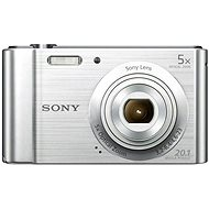Sony CyberShot DSC–W800 strieborný - Digitálny fotoaparát