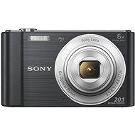 Sony CyberShot DSC-W810 čierny - Digitálny fotoaparát