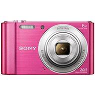 Sony CyberShot DSC-W810 ružový - Digitálny fotoaparát