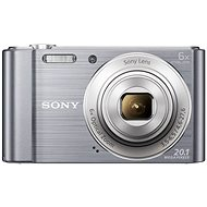 Sony CyberShot DSC-W810 strieborný - Digitálny fotoaparát