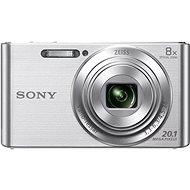 Sony CyberShot DSC-W830 strieborný - Digitálny fotoaparát