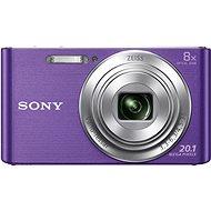 Sony CyberShot DSC-W830 fialový - Digitálny fotoaparát