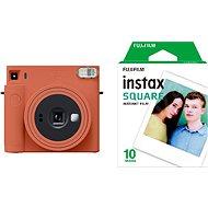 Fujifilm Instax Square SQ1 oranžový + 10× fotopapier