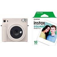 Fujifilm Instax Square SQ1 strieborný + 10× fotopapier