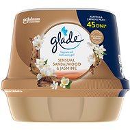 GLADE vonný gél do kúpeľne – Sensual Sandalwood & Jasmine 180 g - Osviežovač vzduchu