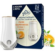 GLADE Aromatherapy elektrický strojček + náplň Pure happiness 20 ml