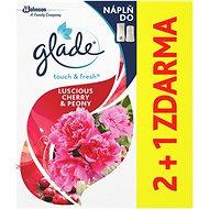 GLADE One Touch náplň 2 + 1 Zvodná pivónia a višňa 3 × 10 ml - Osviežovač vzduchu