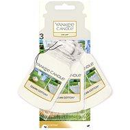 YANKEE CANDLE Car Jar Clean Cotton 3 ks