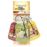 YANKEE CANDLE Car Jar Black Cherry, Vanilla Lime, Vanilla Cupcake 3 ks