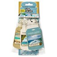 YANKEE CANDLE Car Jar Coconut Bay, Ocean Water, Sun&Sand 3 ks