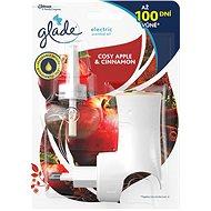 Glade Electric Cosy Apple & Cinnamon + náplň 20 ml - Osviežovač vzduchu