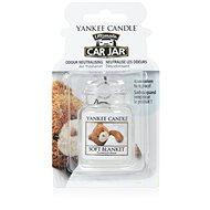 YANKEE CANDLE Car Jar Soft Blanket - Car Air Freshener