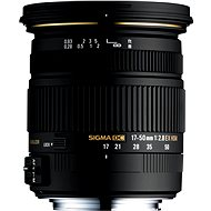 SIGMA 17–50 mm f/2,8 EX DC HSM Pentax - Objektív
