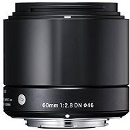 SIGMA 60 mm f/2,8 DN ART čierny SONY - Objektív