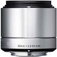 SIGMA 60 mm f/2,8 DN ART strieborný SONY - Objektív