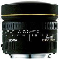 SIGMA 8 mm F3,5 EX DG FISHEYE CIRCULAR pre Canon - Objektív