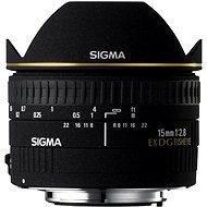 SIGMA 15 mm f/2,8 EX DG FISHEYE pre Canon - Objektív