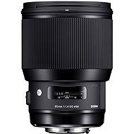 SIGMA 85 mm F1.4 DG HSM Art pre Nikon - Objektív