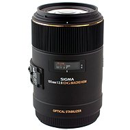 SIGMA 105 mm f/2.8 MACRO EX DG OS HSM pre Nikon - Objektív