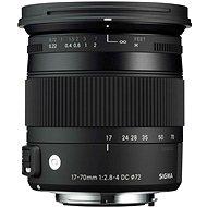 SIGMA 17–70 mm f/2,8-4 DC MACRO OS HSM pre Canon (Contemporary) - Objektív