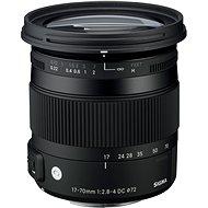 SIGMA 17–70 mm F2.8-4 DC MACRO HSM pre Sony (rad Contemporary) - Objektív