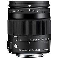 SIGMA 18-200 mm F3.5-6.3 DC MACRO OS HSM pre Nikon (rad Contemporary)