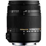 SIGMA 18–250 mm f/3,5–6.3 DC Macro OS HSM pre Canon - Objektív